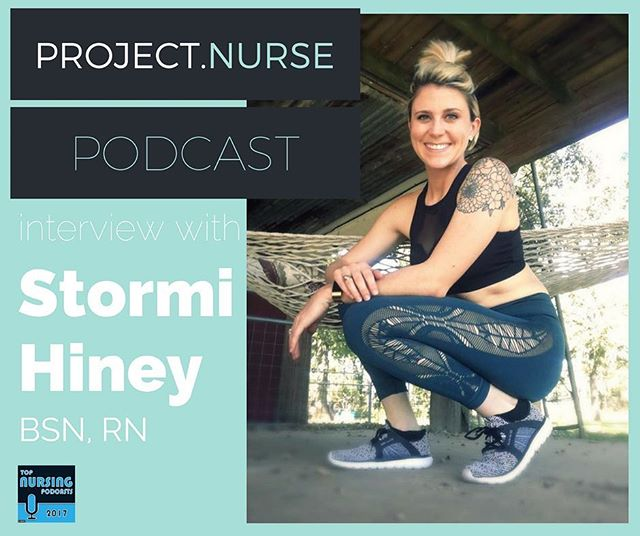 Check out the latest episode of the #projectnursepodcast where I interview the nurse with the greatest name of all-time: Stormi Hiney! . . . . Stormi is an endoscopy nurse clinical educator who balances work, fitness, and owning a ranch full of animals.  We talk about her career in nursing and how she is able to stay positive despite facing a tragedy in her life.  Check out the link in my bio for the episode!