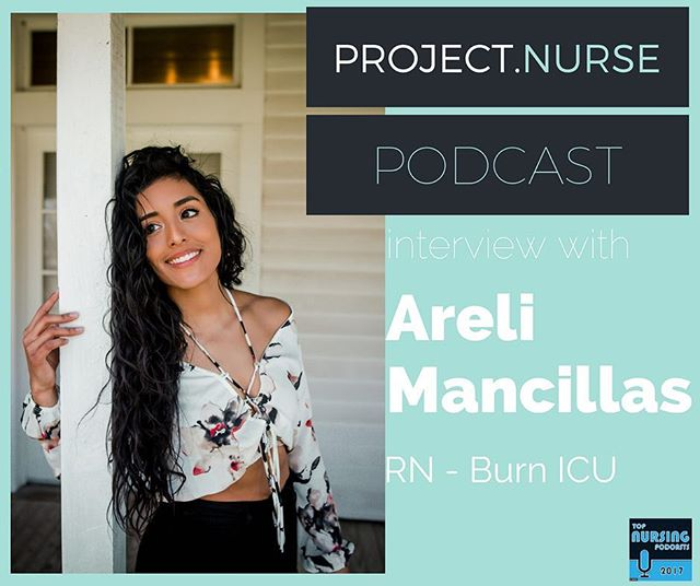 Listen to the latest episode of the #projectnursepodcast with @areli_mancillas at the link in my bio!  We talk about overcoming adversity, balancing #nursing #fitness, #parenthood and how shes building a better life for her family through nursing