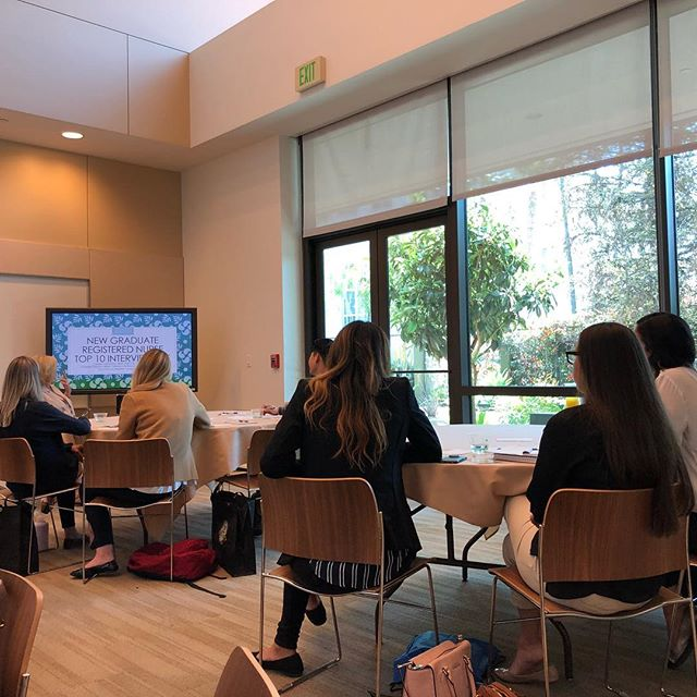 Big shoutout to the LA chapter of @awhonn for putting on an awesome event! I had a great time teaching #newnurses about resume writing and the pros and cons of social media in #nursing !