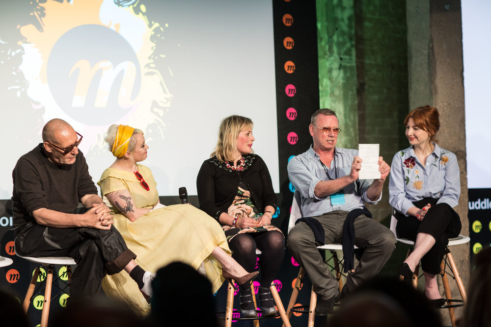 Momentum Creativity Panel - London (left to right): Michel Comte, Terri White, Alice Instone, Trevor Walton, Alice Levine
