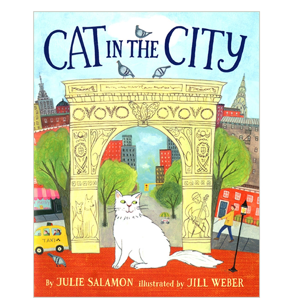 CAT IN THE CITY Book Cover / Dial Books for Young Readers 2014