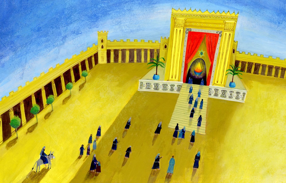 Temple in Jerusalem—THE STORY OF HANUKKAH