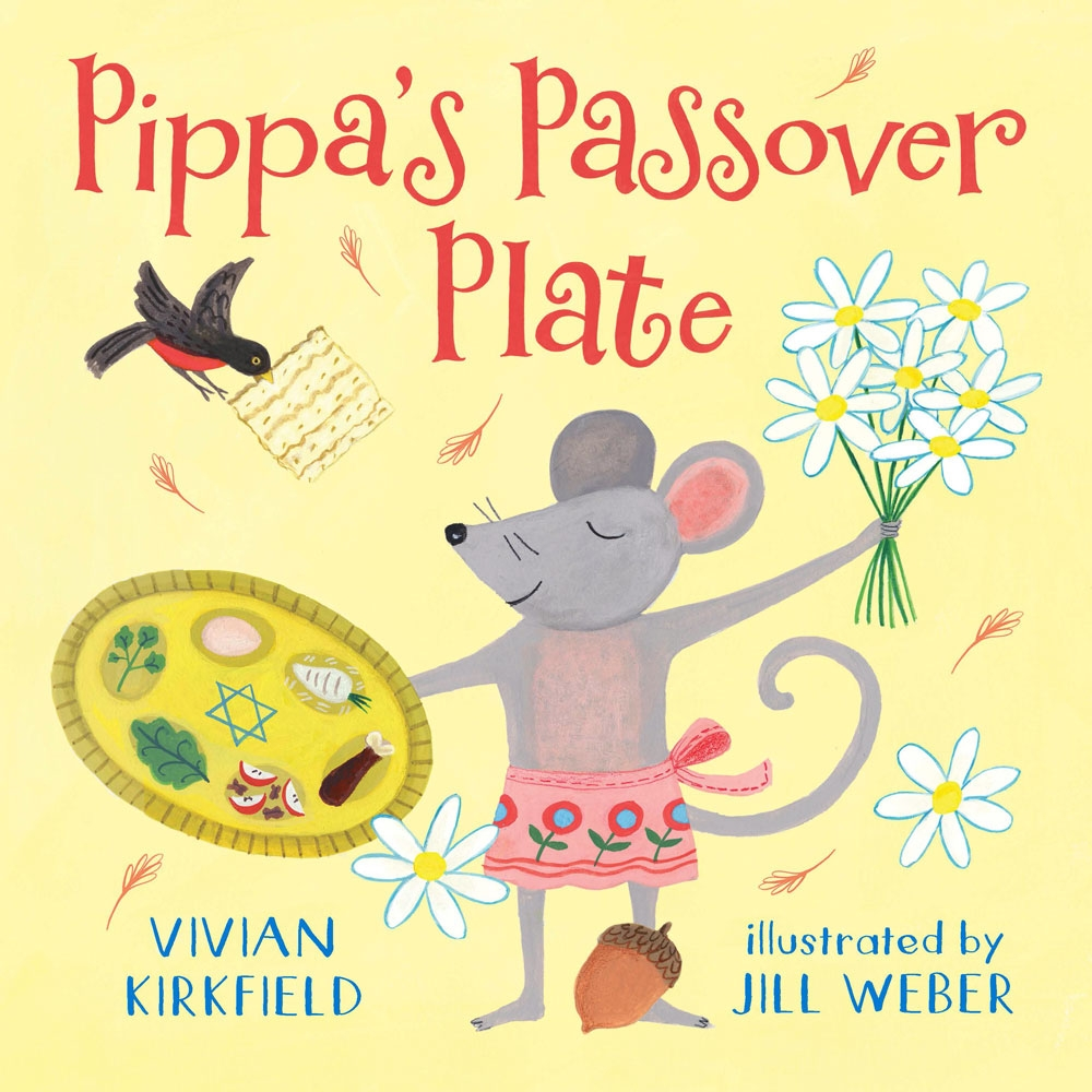 PIPPA'S PASSOVER PLATE  Book Cover / Holiday House 2019