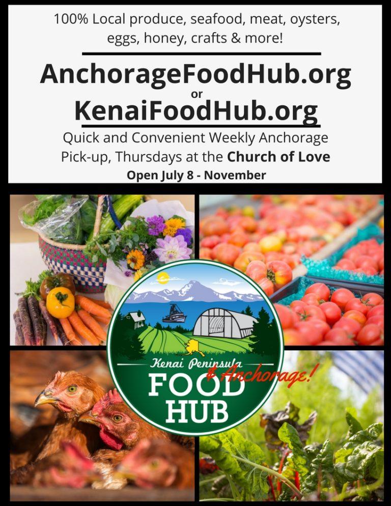 Church of Love Food Hub Location