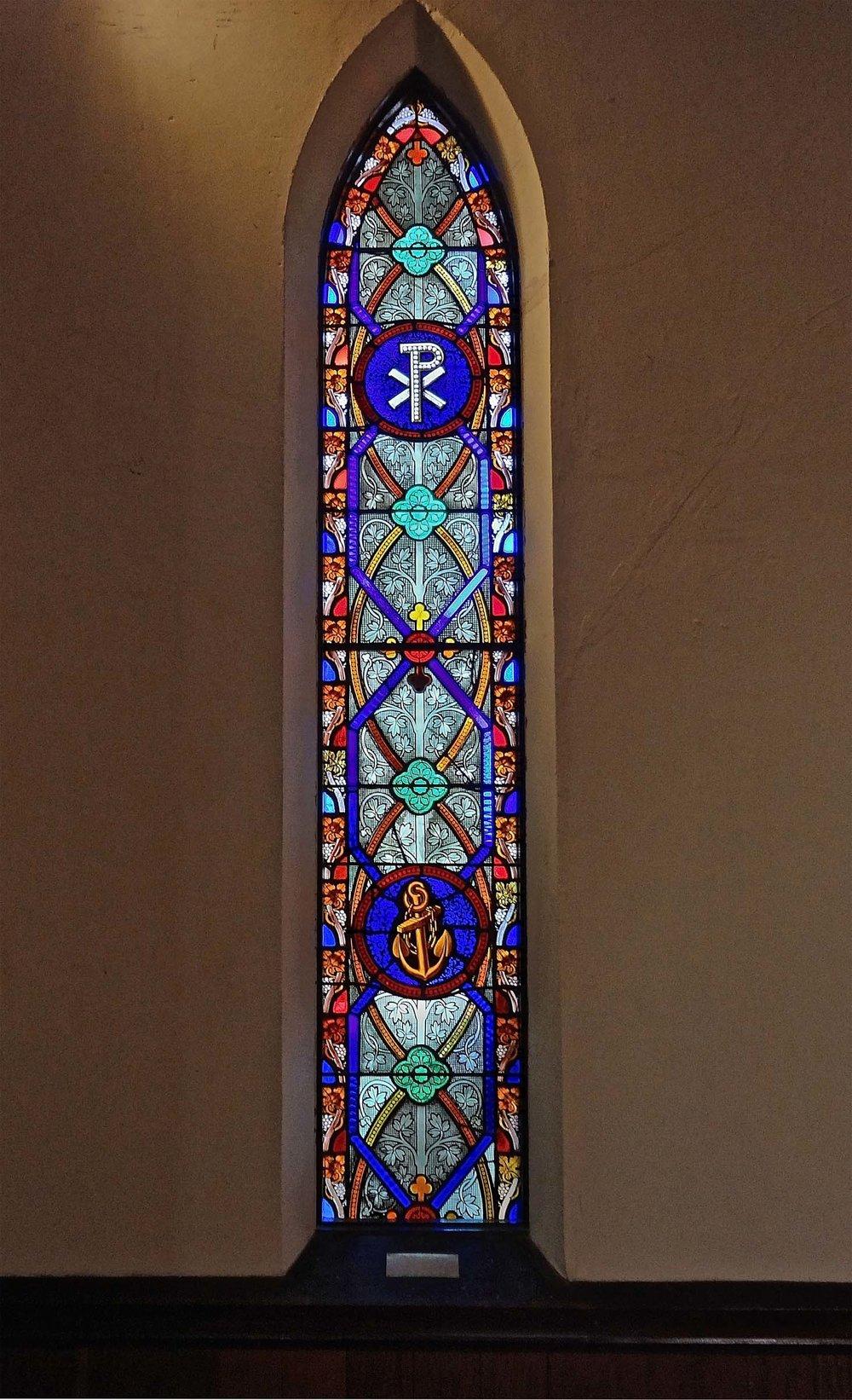 The restored window