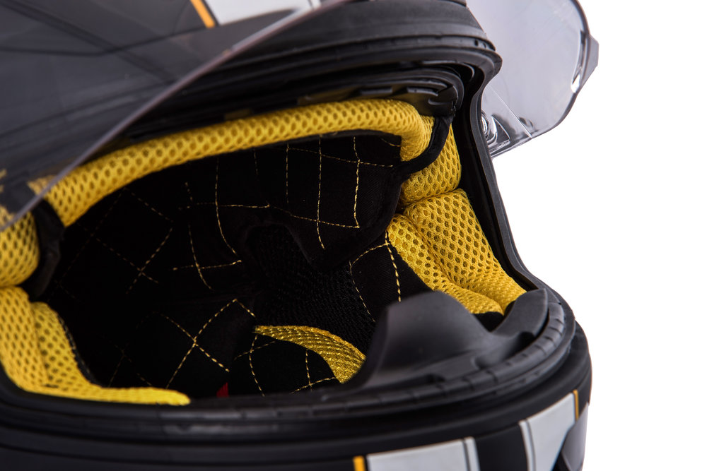 Quin Quilted lining - Every Quin Helmet comes with unique colour-matched  quilted lining. It is soft, durable, and oh-so-luxurious.
