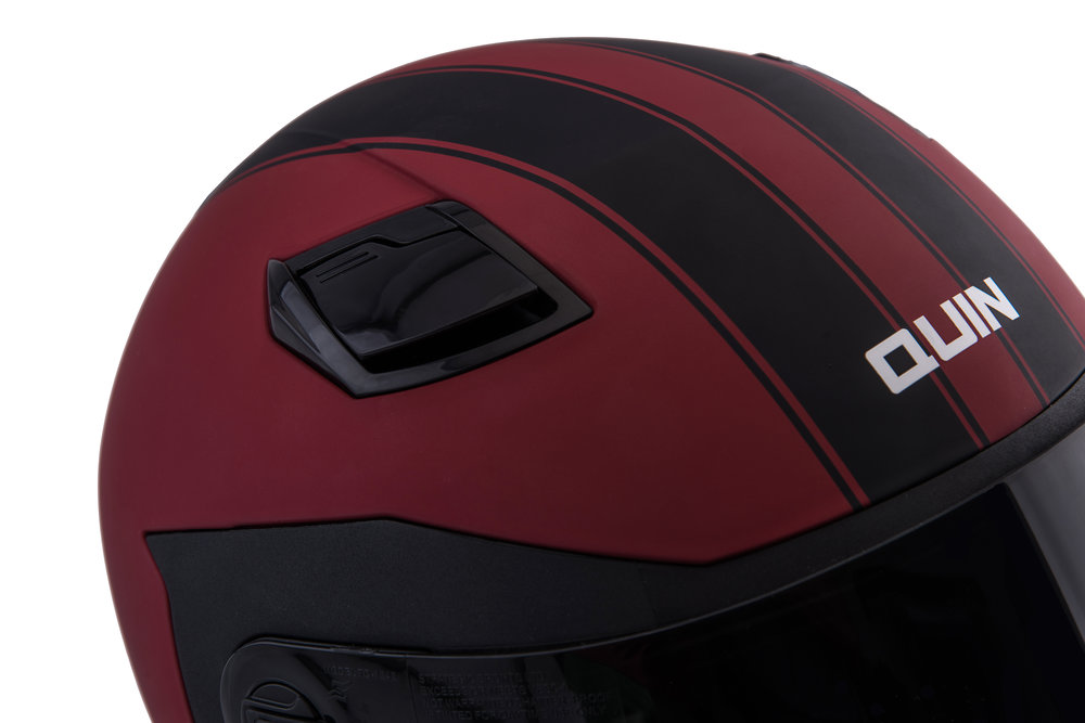 aerodynamic venting - Having control over the ventilation on your helmet is important. The aerodynamic vent system is designed to reduce wind noise, giving you the ability to cool off, and maintain audio quality for the bluetooth system.