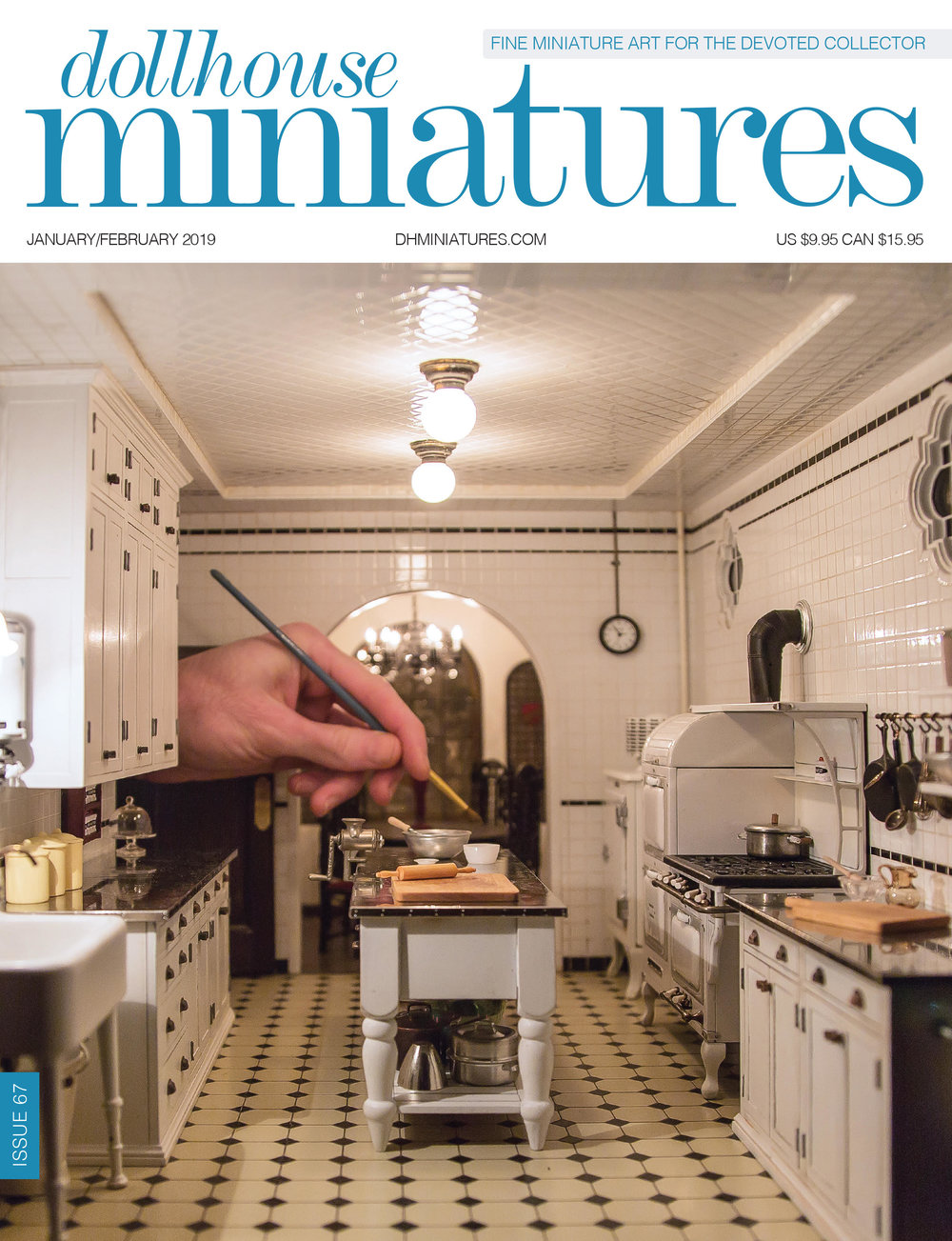 The Jan/Feb issue of Dollhouse Miniatures features highlights from the 2018 Fall Show! - For more Dollhouse Miniatures, check out:www.americanminiaturist.com/www.instagram.com/americanminiaturist/www.dhminiatures.com/www.instagram.com/dhminiatures/