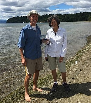 - Bob and Mary McKearin, LCC cyanobacteria monitors for Burlington's North Beach.