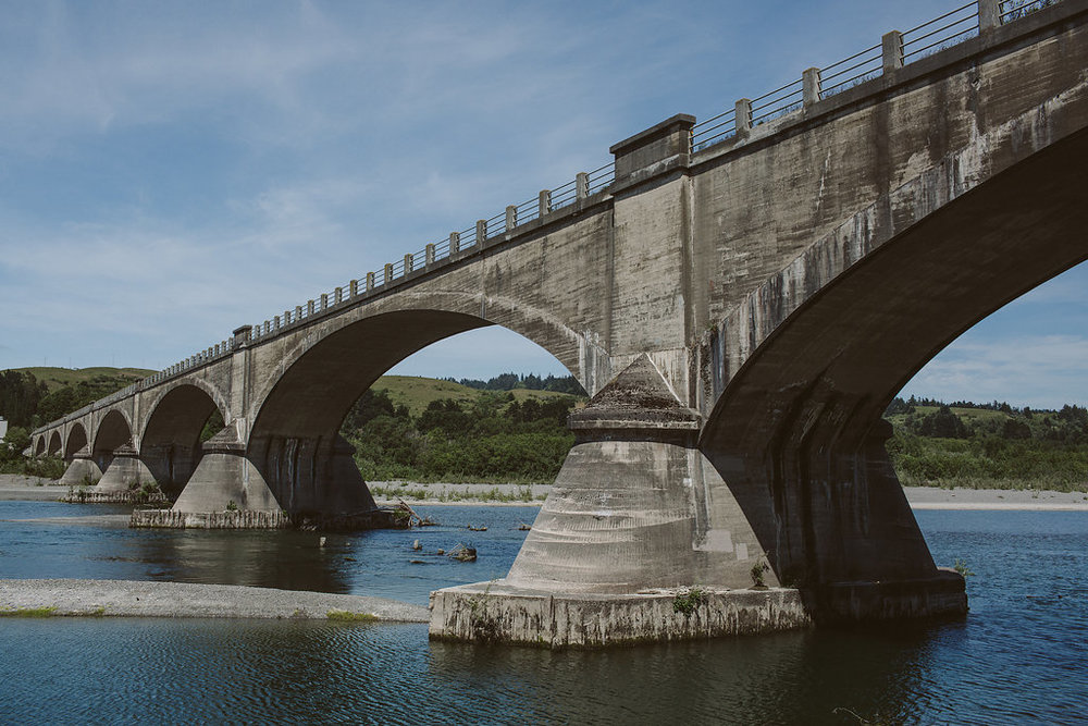 Historic Fernbridge in Ferndale CA