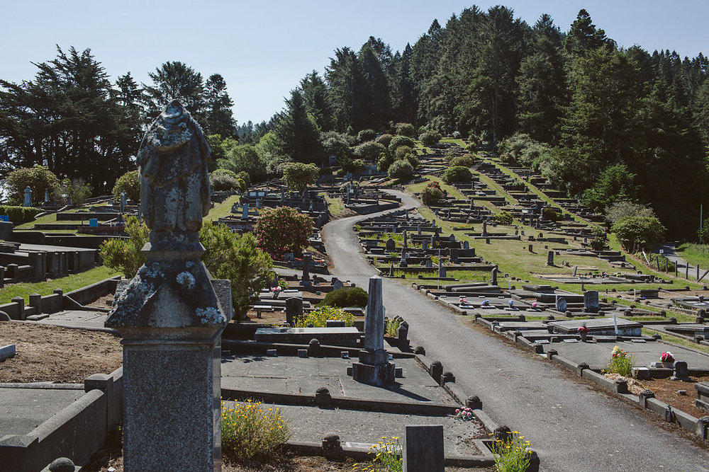 Ferndale Historic Cemetery in Ferndale, California
