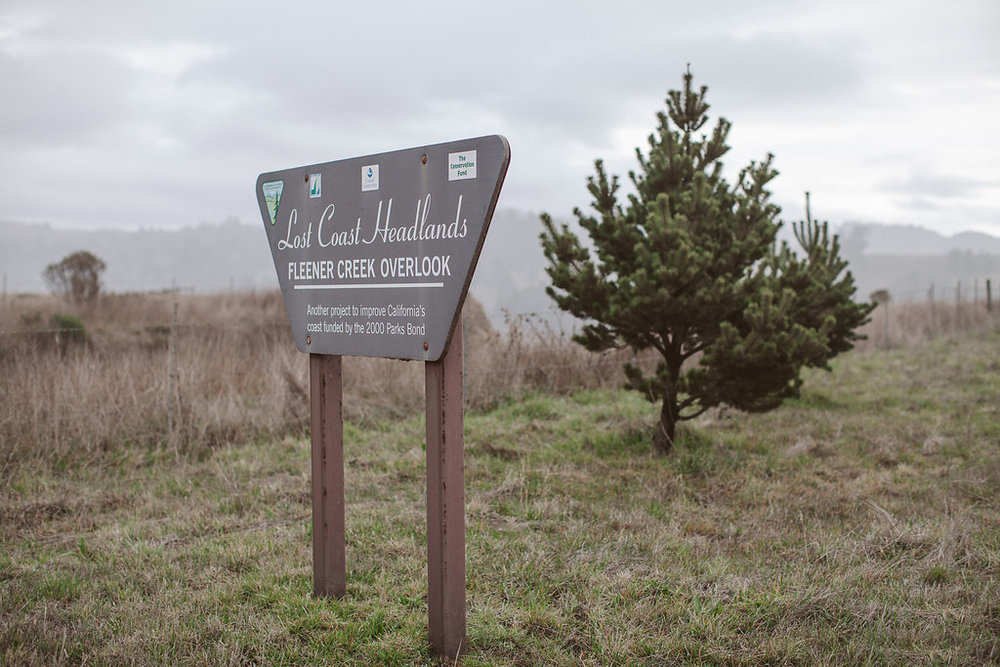 Lost Coast Headlands Fleener Creek Outlook | Ferndale CA