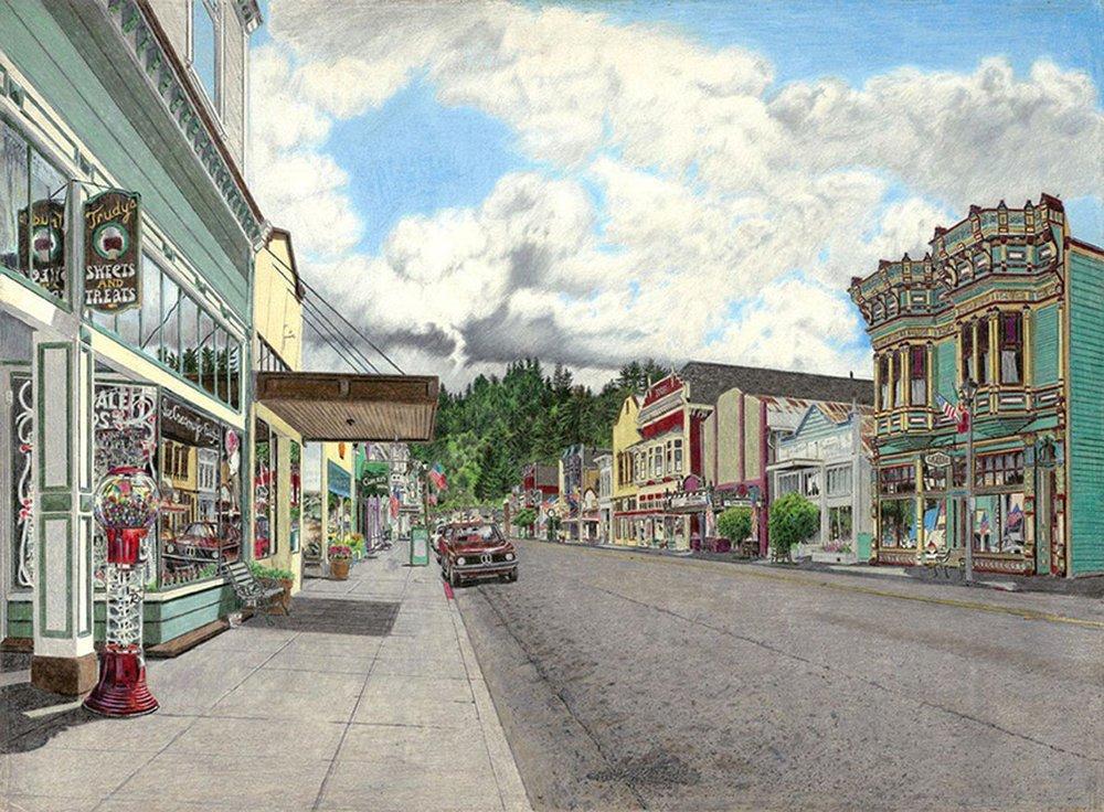 Jack Mays Print Ferndale Main Street.jpeg