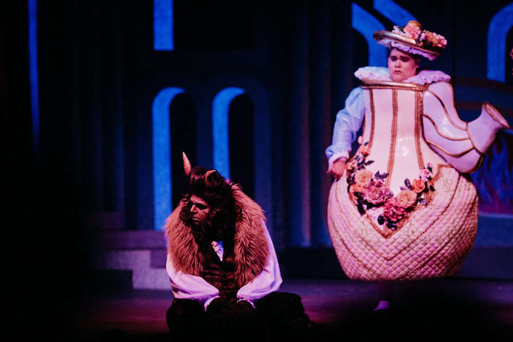 Beauty and the Beast - Beast and Mrs. Potts | Ferndale Repertory Theatre