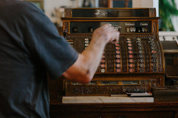Vintage Cash Register - Shopping in Ferndale CA.jpeg