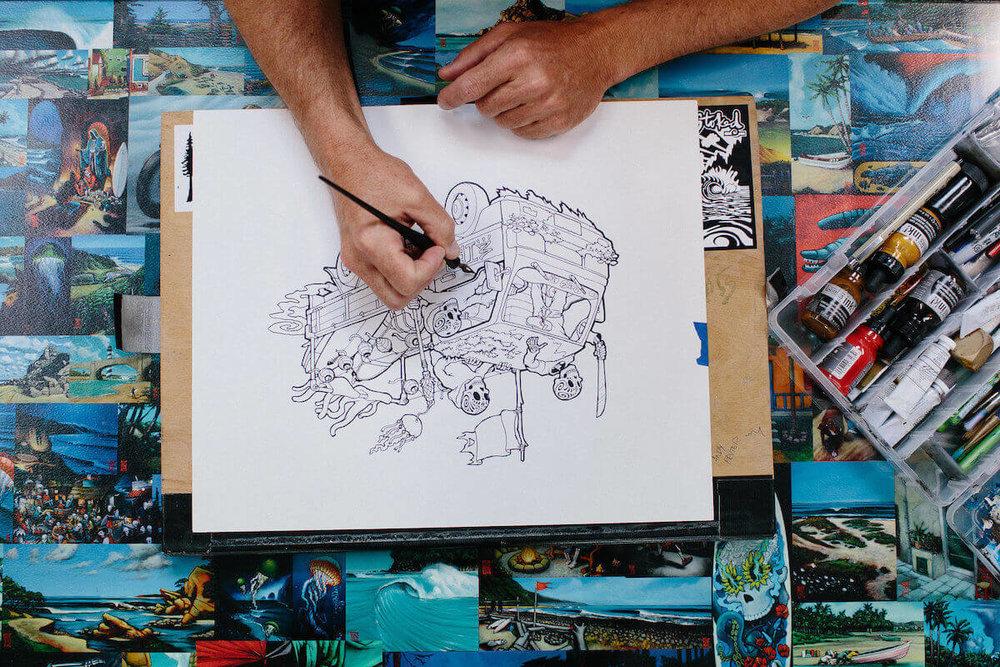 Shawn Griggs Dias de los Muertos Skeleton Art - Ferndale CA.jpeg