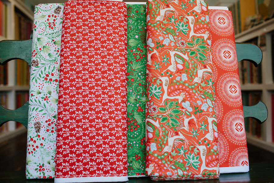 Holiday Fabrics at Stitch Quilt Shop - Historic Ferndale CA.jpeg