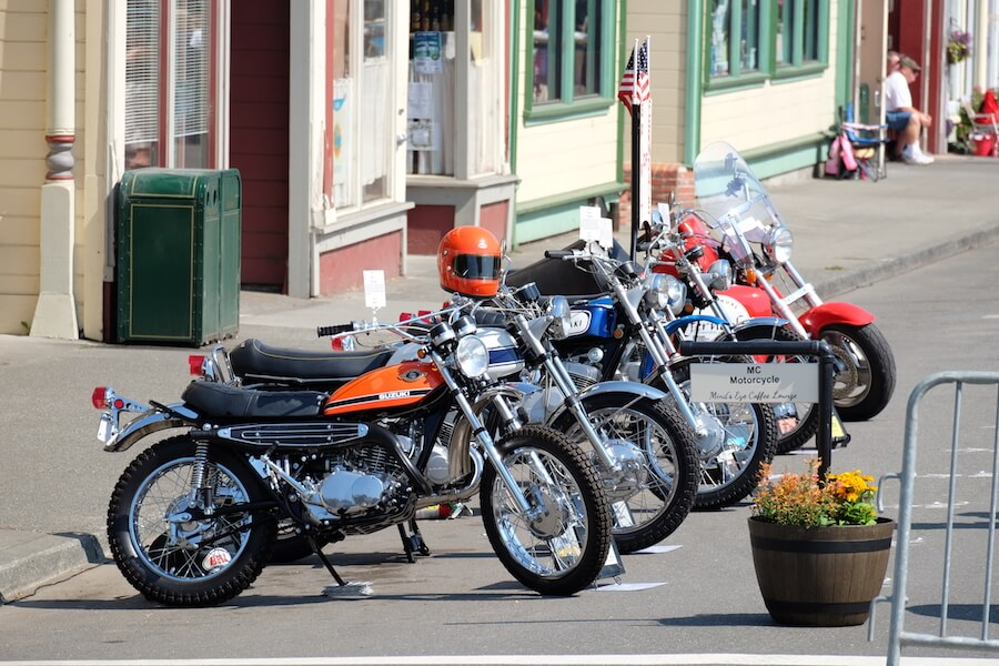 Classic Motorcycles at Ferndale Concours on Main Historic Ferndale CA Car Show.jpg