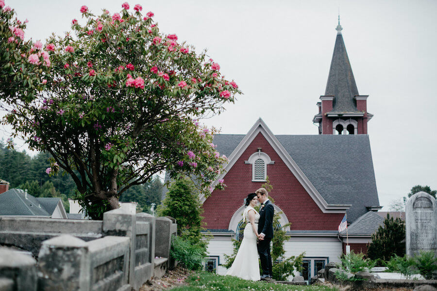 Photography by Leon Villagomez | Ferndale Cemetery & The Old Steeple