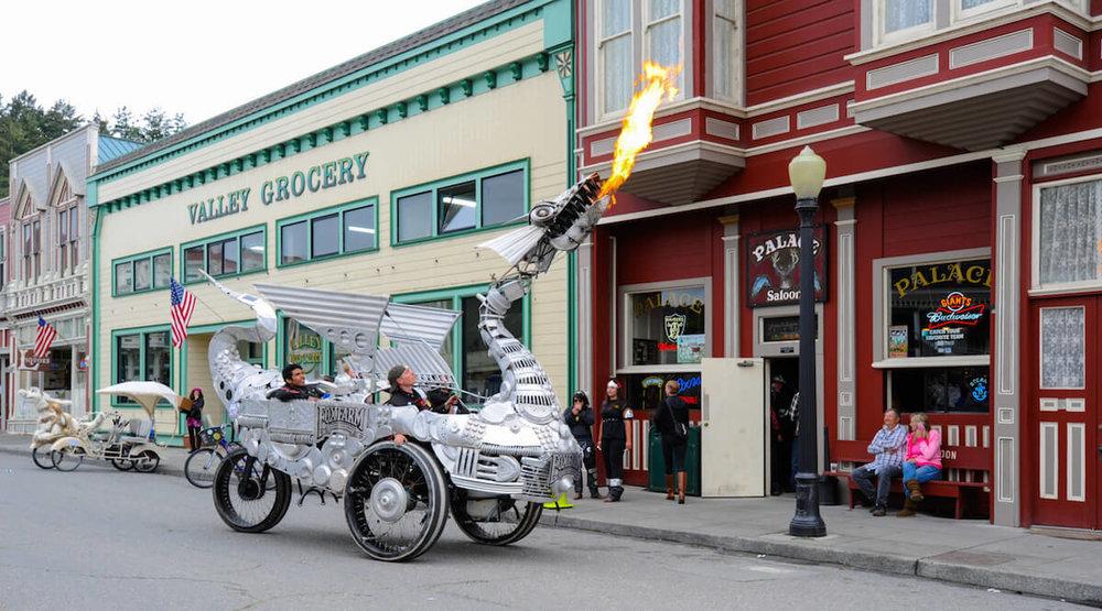 Kinetic Sculpture Race Dragon in Ferndale CA.jpeg