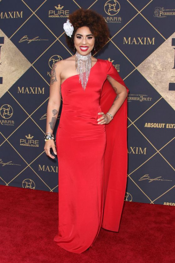 """You can move people's opinion and move people toward your cause in a  beautiful way, or you can put people into pain and fear and suffering and it won't  help your cause. Art is supposed to inspire and make us think, not make us fear for our lives … artists have a responsibility for what they say.""  -Joy Villa"