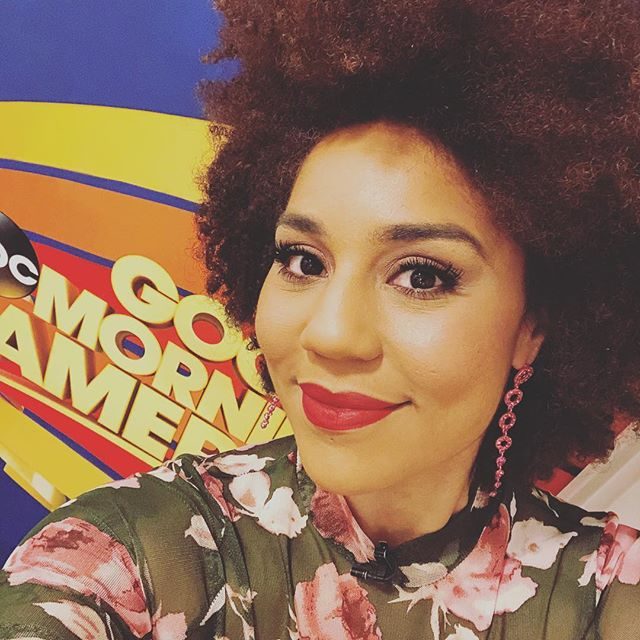 Coming up on @goodmorningamerica in 2 minuets...#joytribe #love #maga #gma