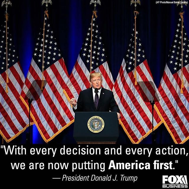 "What a great time to be alive with a President such as @realdonaldtrump 😊😍👌🏽 President Donald #Trump declared a new national security strategy on Monday, stressing the ""America first"" message of his 2016 campaign. #MAGA #POTUS #Trump2020"