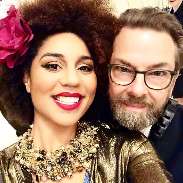 Happy New Year babes! From me and my amazing best friend and life partner (legally now for one year!) @thorstenovergaard 💋🇺🇸🎆🎊💕🎶👑💋❤️ We have a lot of wonderful work to do in 2018 to make our nation and communities safer, stronger, freer and GREATER than ever! Carry your fire and passion forward to a bright future. #Joytribe #bringjoytocongress #love #unity #MAGA #style #singersongwriter #happynewyear2017 #ProTrump #ProLife #Conservativegirl