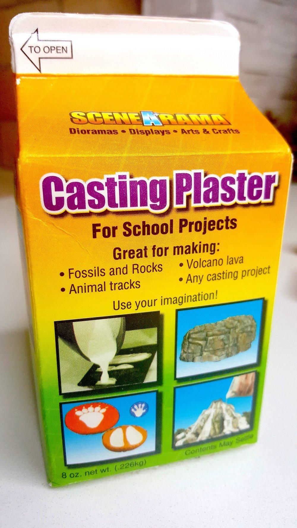 casting plaster
