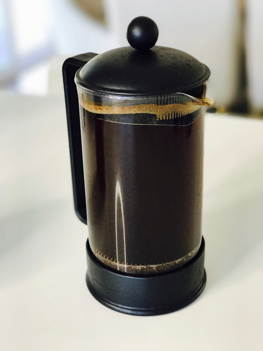 Most of us have a French press collecting dust somewhere in our kitchen -- Cold Brew gives us a great excuse to dust that puppy off and get brewing!!