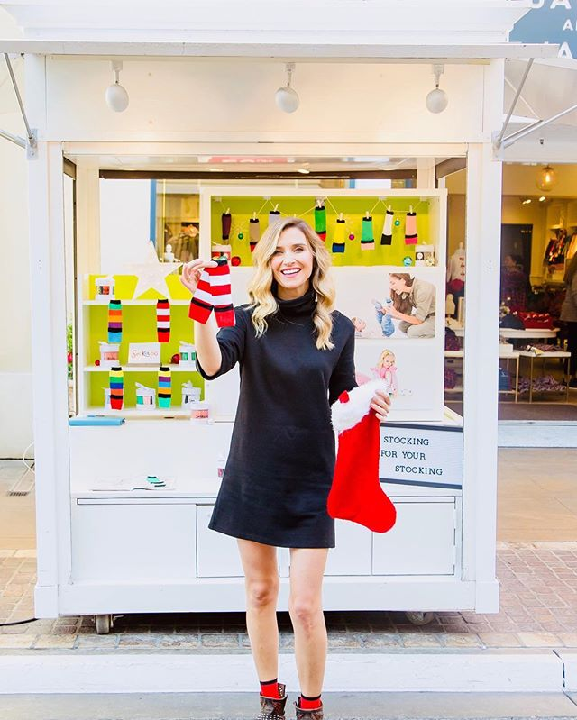 IF YOU DARE!!! Brave the crowds & stop by @sockabu at @thegrovela for your last-minute (AND made in America!) stocking stuffers!!!