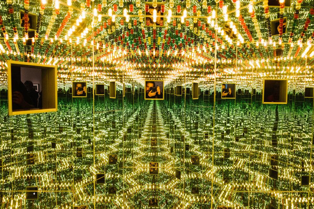Yayoi Kusama Infinity Mirrors 03/22/17. Photo Credit: Nicholas Karlin www.nicholaskarlin.com