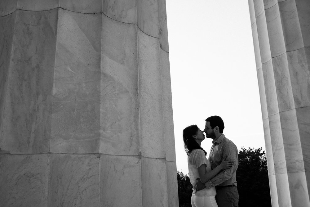 Mark and Christine engagement in Washington DC 04/11/17. Photo Credit: Nicholas Karlin www.karlinvillondo.com