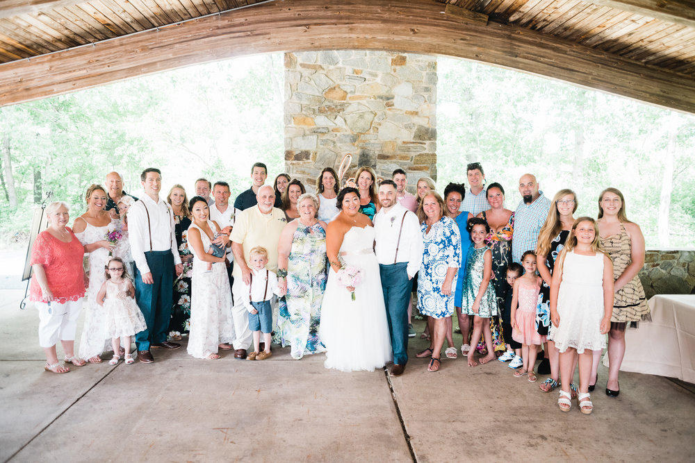 Kristi and Lee wedding at Patapsco State Park 06/24/17. Photo Credit: Nicholas Karlin www.karlinvillondo.com