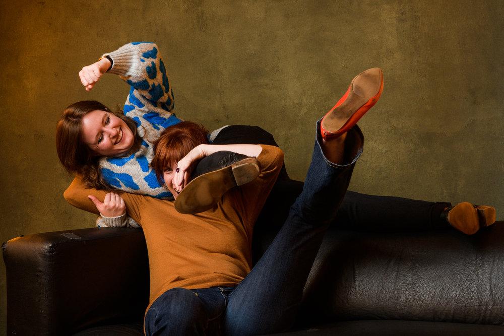 Kaylee Dugan and Jenn Tisdale
