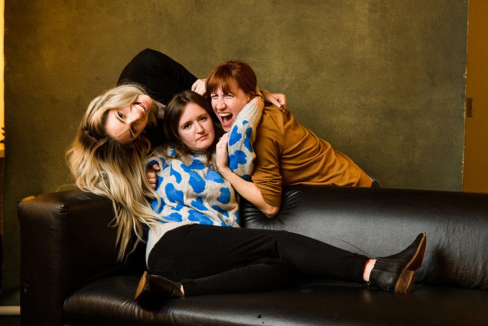 Marissa Rubenstein, Kaylee Dugan, Jenn Tisdale