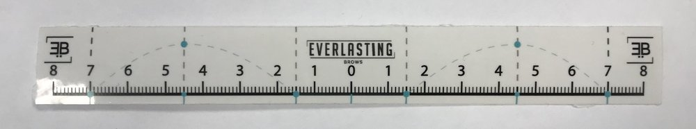 Everlasting Brows Brow Mapping Ruler