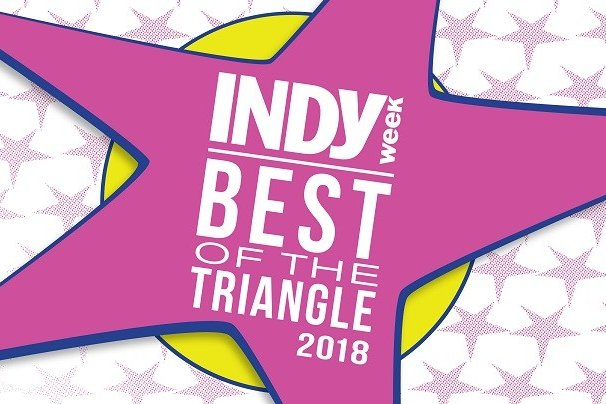 Indy Week Best of the Triangle 2018 - Jen and Altered Aesthetics were a Finalist for Indy Week Best of the Triangle 2018 for Best Tattoo Studio!
