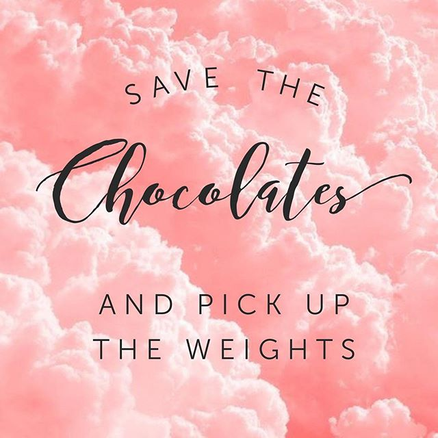 Instead of getting chocolates why don't you hit the gym with your sweetie? #eatclean #exercise #excellence #healthy #fitness