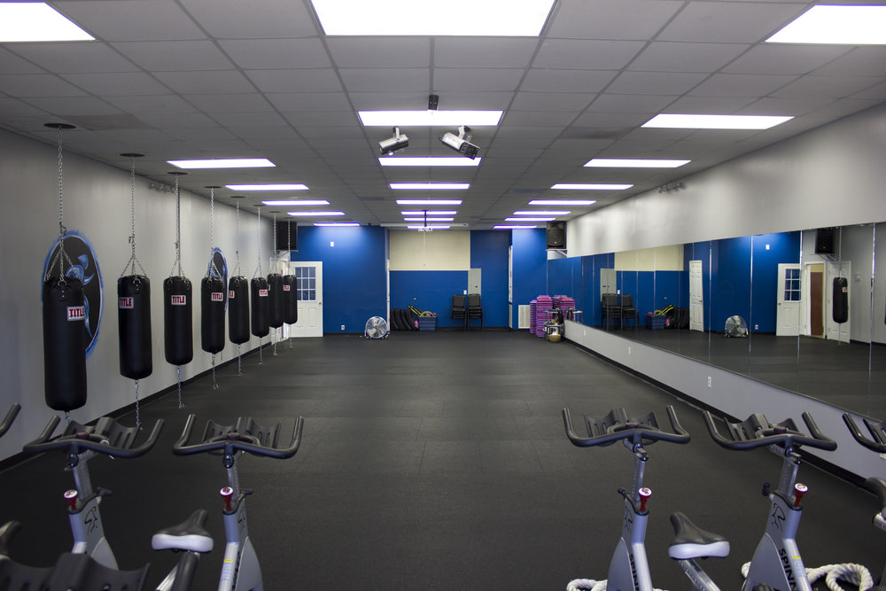 Blue Room with Bikes.JPG