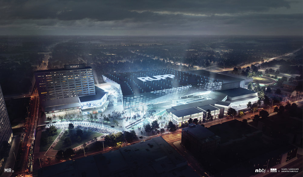 Architects & Rendering provided by:  EOP Architects  &  NBBJ