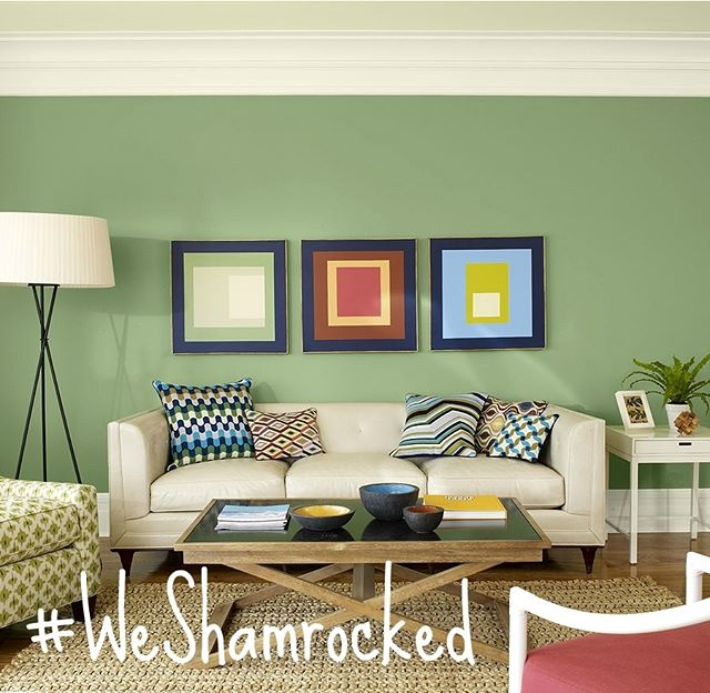 #WESHAMROCKED! Use that hashtag and enter to win a $50 gift card to @shamrockpaints !!