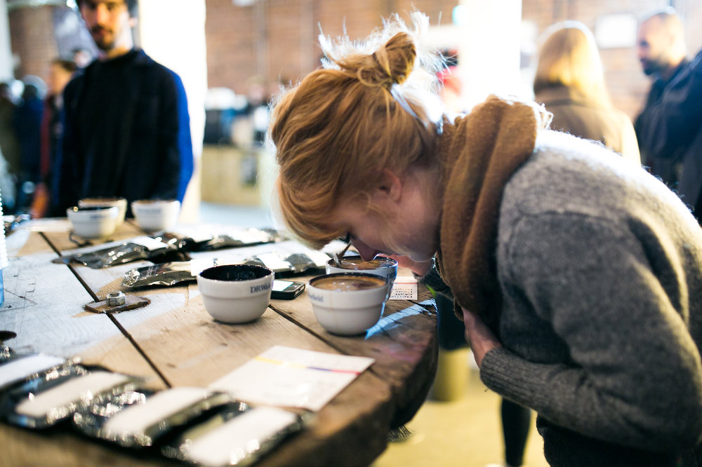 Cupping Lab – Various Times - 10:30 – Falcon Specialty:Coffees from Burundi, Rwanda & DRC11:30 – The Barn -Curated Cupping: Our approach to Coffee Quality12:30 – Mercanta:South America13:30 – Schluter14:30 – Nordic Approach:Colombian Coffee15:30 – DRWakefield:Analysing Traceability: Colombia & Myanma16:30 – Caffeine Mag: In The Hopper Tasting