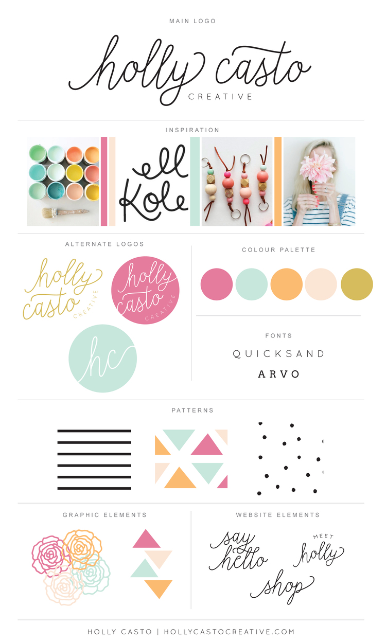 BRANDING BOARD VIA  HOLLY CASTO.