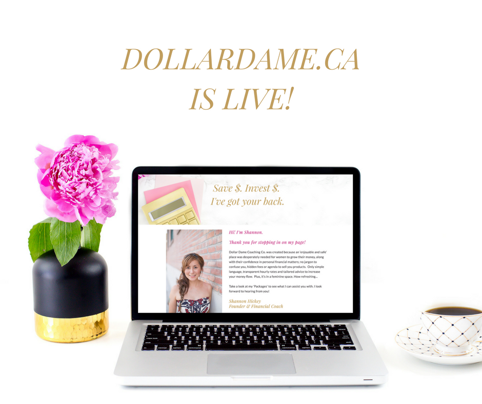 Dollar Dame is LIVE