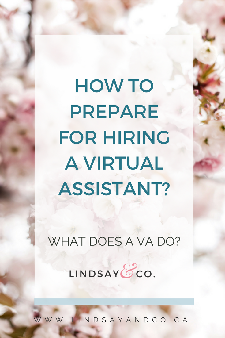 HOW TO PREPARE FOR HIRING A VIRTUAL ASSISTANT