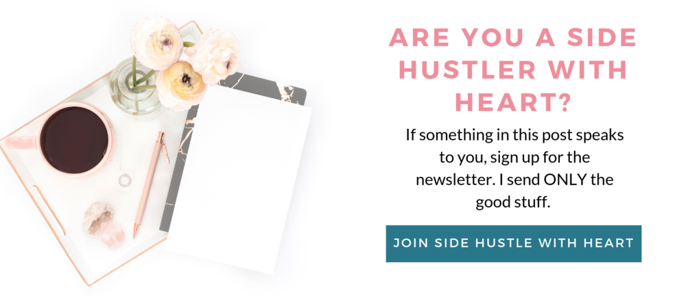 Join Side Hustle with Heart