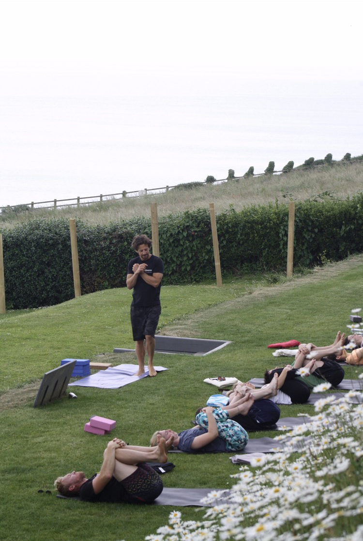 yoga retreat in north devon