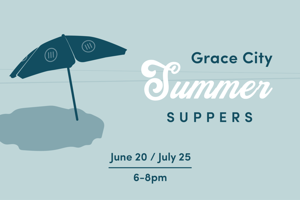 As we look forward to the launch of Grace City Church this fall, we see the importance of building relationships as we enter into the mission of the church together as one body. The Summer Suppers are meant to create opportunities to get to know other people at Grace City Church and to create environments for us to engage our neighbors, friends, and co-workers. We will be sharing meals together and spending some time playing games and just hanging out. Please sign up for one of the locations listed below and be thinking of who you can invite!