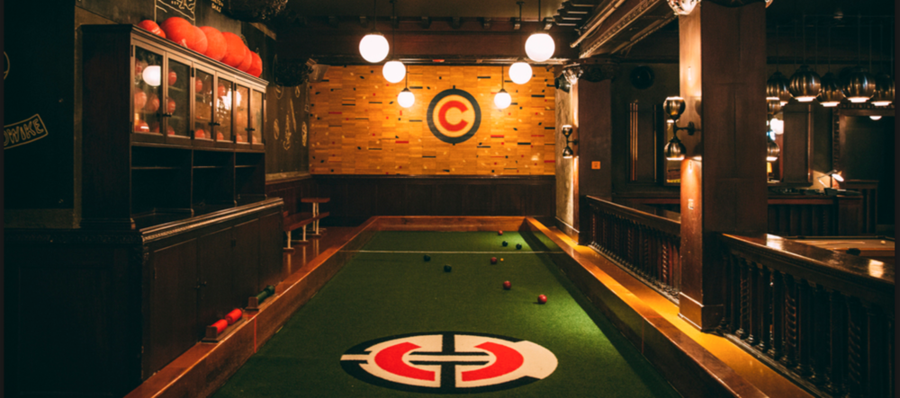 Game Room at Chicago Athletic Club